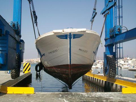 desguace de barcos